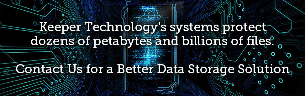 Our customers store and protect dozens of petabytes and billions of files using our systems.