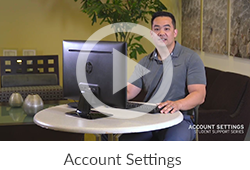 Ashford Classroom Account Settings